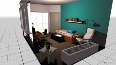 Raumgestaltung Susis Zimmer Vorschlag 2 in der Kategorie Kinderzimmer