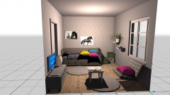 Raumgestaltung Thalias Zimmer in der Kategorie Kinderzimmer