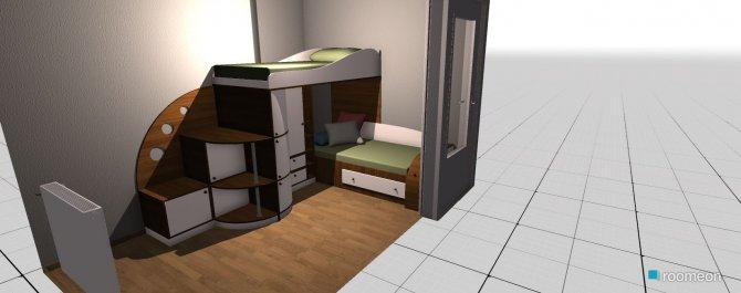 Raumgestaltung Thomas in der Kategorie Kinderzimmer