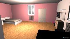 Raumgestaltung Tita's Zimmer in der Kategorie Kinderzimmer