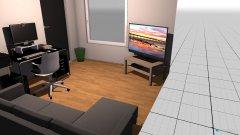 Raumgestaltung Unten Zimmer PC, TV, Sofa in der Kategorie Kinderzimmer