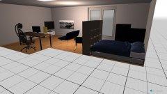 Raumgestaltung Vadims neues Zimmer in der Kategorie Kinderzimmer