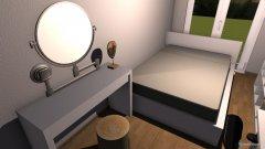 Raumgestaltung Vanessa_Zimmer_140Bett in der Kategorie Kinderzimmer