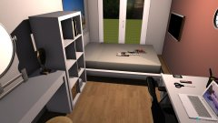 Raumgestaltung Vanessa_Zimmer_Traum in der Kategorie Kinderzimmer
