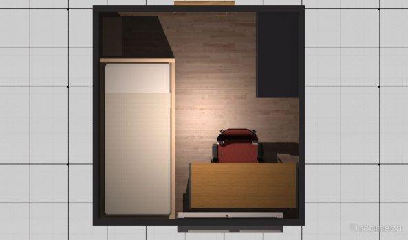 Raumgestaltung Vivian2 in der Kategorie Kinderzimmer
