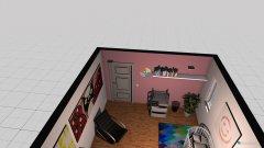Raumgestaltung Vorstellung Mädchen in der Kategorie Kinderzimmer