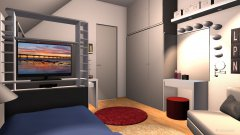 Raumgestaltung WilkiV1 in der Kategorie Kinderzimmer