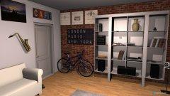Raumgestaltung Wunschzimmer in der Kategorie Kinderzimmer