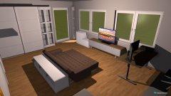 Raumgestaltung Zimmer groß in der Kategorie Kinderzimmer