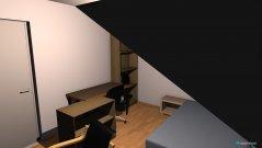 Raumgestaltung Zimmer Hans in der Kategorie Kinderzimmer