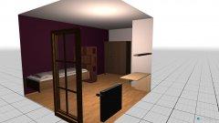 Raumgestaltung Zimmer Lucie in der Kategorie Kinderzimmer