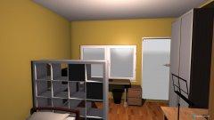 Raumgestaltung Zimmer mit Bett in der Kategorie Kinderzimmer