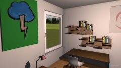 Raumgestaltung Zimmer Poco in der Kategorie Kinderzimmer