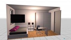 Raumgestaltung Zimmer Wunsch in der Kategorie Kinderzimmer