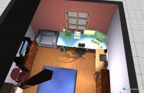 Raumgestaltung Zimmer4 in der Kategorie Kinderzimmer