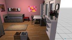 Raumgestaltung Zimmerwechsel Sophie in der Kategorie Kinderzimmer