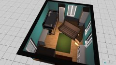 Raumgestaltung Zoes Zimmer in der Kategorie Kinderzimmer