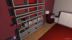 Raumgestaltung ZUNIs Zimmer in der Kategorie Kinderzimmer