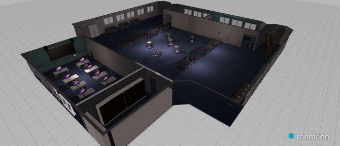 Raumgestaltung 1st draft Staff Room in der Kategorie Konferenzraum