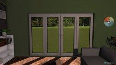 Raumgestaltung bungalow obyvacka in der Kategorie Konferenzraum