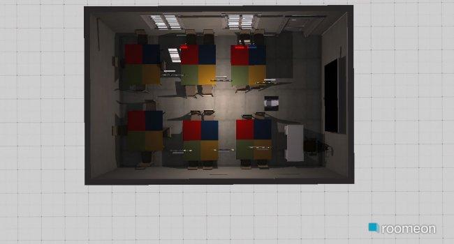 Raumgestaltung Classroom large in der Kategorie Konferenzraum