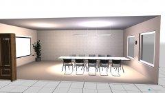 Raumgestaltung conf_2 kanzel in der Kategorie Konferenzraum