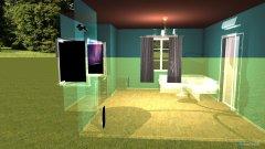 Raumgestaltung Grundrissvorlage Erker in der Kategorie Konferenzraum