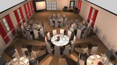 Raumgestaltung Hochzeit 3 in der Kategorie Konferenzraum