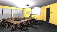 Raumgestaltung Klassenzimmer1 in der Kategorie Konferenzraum