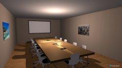 Raumgestaltung Konferenzraum in der Kategorie Konferenzraum