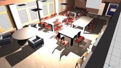 Raumgestaltung Mensa in der Kategorie Konferenzraum