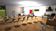Raumgestaltung mums club in der Kategorie Konferenzraum