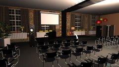 Raumgestaltung Saal 1 in der Kategorie Konferenzraum