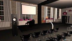 Raumgestaltung Saal 2 in der Kategorie Konferenzraum