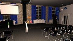 Raumgestaltung Saal 3 in der Kategorie Konferenzraum