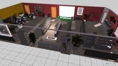 Raumgestaltung saal 4 ecke in der Kategorie Konferenzraum