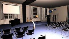 Raumgestaltung Saal 4 in der Kategorie Konferenzraum