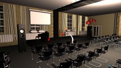 Raumgestaltung Saal 5 in der Kategorie Konferenzraum
