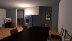 Raumgestaltung WohnKüche in der Kategorie Konferenzraum