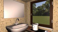Raumgestaltung 2,5x2,5 Bad-WC-Küche in der Kategorie Küche