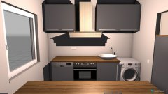 Raumgestaltung 2 Küche Pappel in der Kategorie Küche