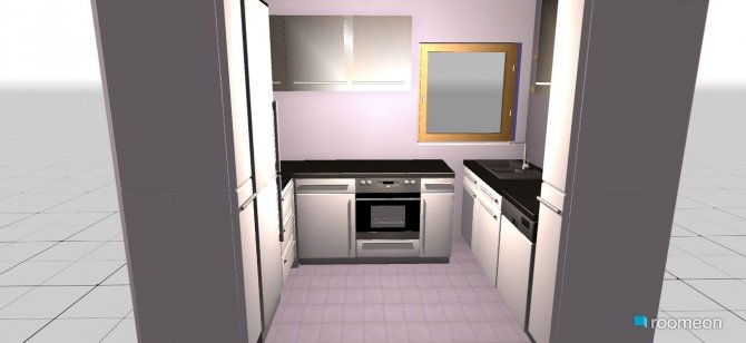 Raumgestaltung Alte Küche in der Kategorie Küche