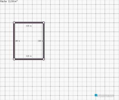 Raumgestaltung Arbeitsplatte in der Kategorie Küche