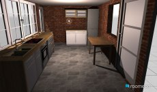Raumgestaltung backhaus in der Kategorie Küche