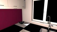 Raumgestaltung Backküche in der Kategorie Küche