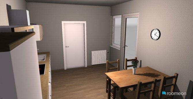 Raumgestaltung Badenstr. Küche in der Kategorie Küche