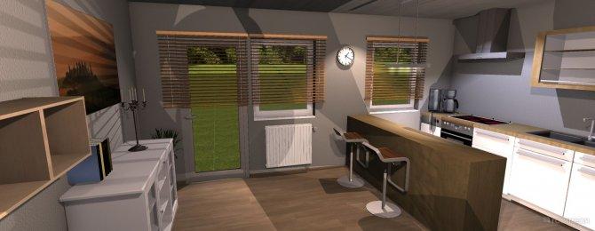 Raumgestaltung Beispiel 1 in der Kategorie Küche