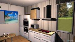 Raumgestaltung Bianco1 in der Kategorie Küche