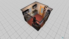 Raumgestaltung bloc Küche in der Kategorie Küche