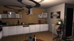 Raumgestaltung Brown room in der Kategorie Küche
